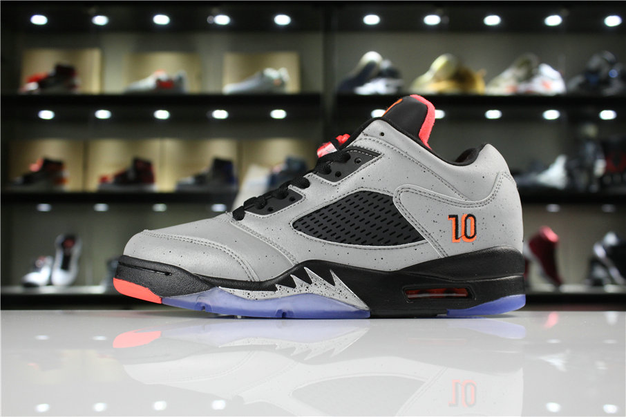 Cheap Wholesale 2018 Neymar x Air Jordan 5 Low Reflective Silver Infrared  23-Black 846315 4c8072f62