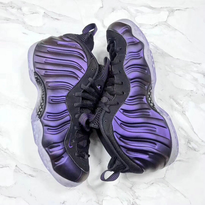 2018 Nike Air Foamposite One Purple Black Cheapest Wholesale Sale - www.wholesaleflyknit.com
