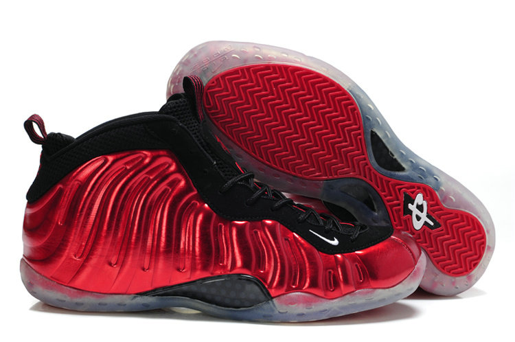2018 Nike Air Foamposite One Red Black Cheapest Wholesale Sale - www.wholesaleflyknit.com