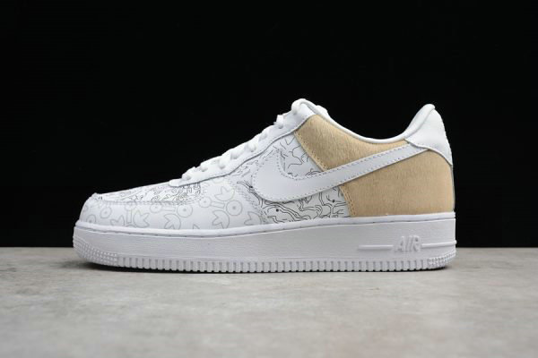Cheap Wholesale 2018 Nike Air Force 1 Low PRM YOTD 18 White For Sale - www.wholesaleflyknit.com