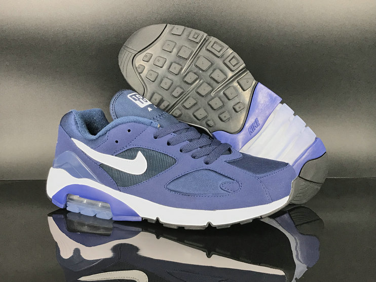 2018 Nike Air Max 180 Purple White Mens Cheapest Wholesale Sale - www.wholesaleflyknit.com