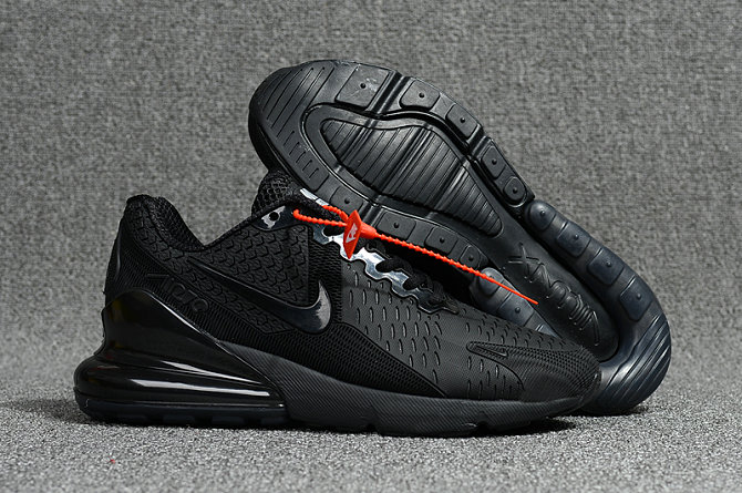 2018 Nike Air Max 270 All Black Mens Cheapest Wholesale Online www