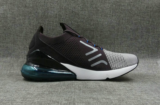 403b7cf1c8d2a 2018 Nike Air Max 270 Flyknit Mens Brown Black White Cheapest Wholesale  Online - www.