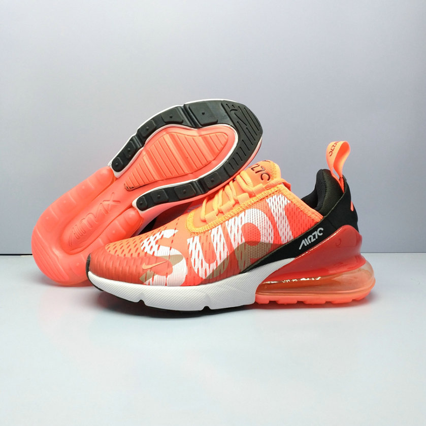 2018 Nike Air Max 270 Supreme Orange Red Mens Cheapest Wholesale Online -  www.wholesaleflyknit 91db27205
