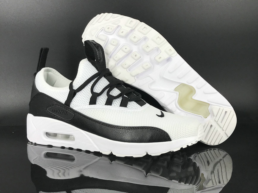 2018 Nike Air Max 90 EZ White BlackCheapest Wholesale Sale