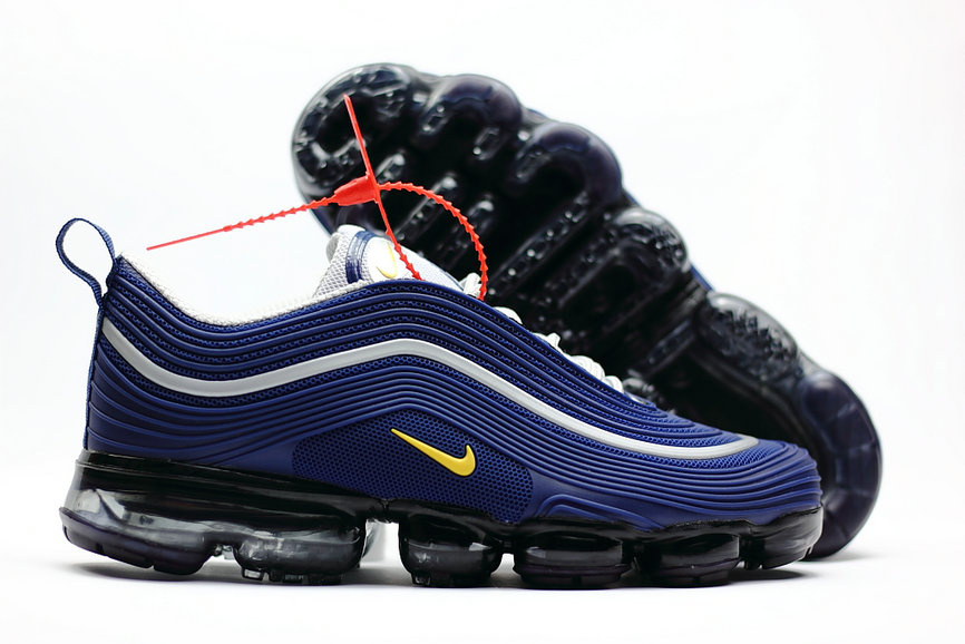 new arrivals 8ccc1 dc067 2018 Nike Air Max 97 Ultra VaporMax White Blue Yellow - www ...