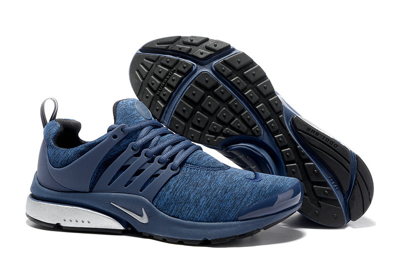 2018 Nike Air Presto BR QS Blue White Black Cheapest Wholesale Sale - www.wholesaleflyknit.com