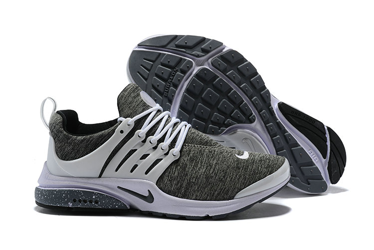 2018 Nike Air Presto BR QS Grey White Black Cheapest Wholesale Sale - www.wholesaleflyknit.com