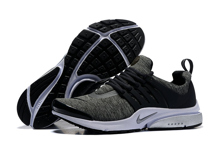 2018 Nike Air Presto BR QS White Grey Black Cheapest Wholesale Sale - www.wholesaleflyknit.com
