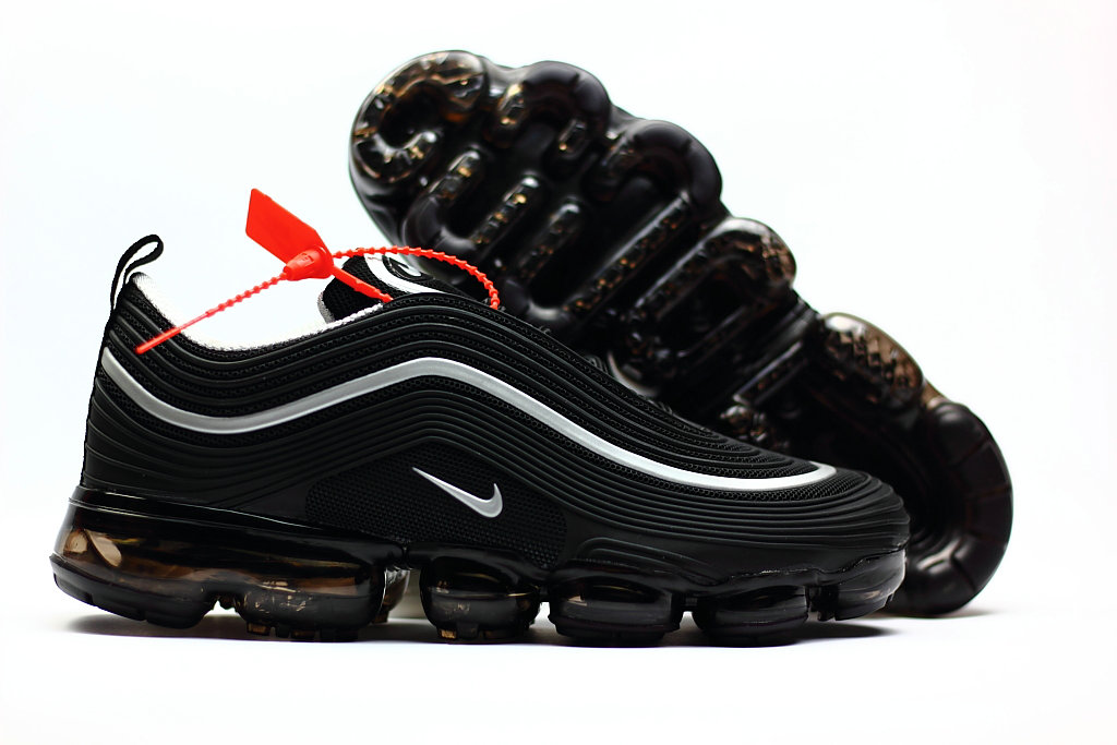 2018 Nike Air VaporMax x Air Max 97 Black White Cheapest Wholesale Sale -  www. 7abea1b44