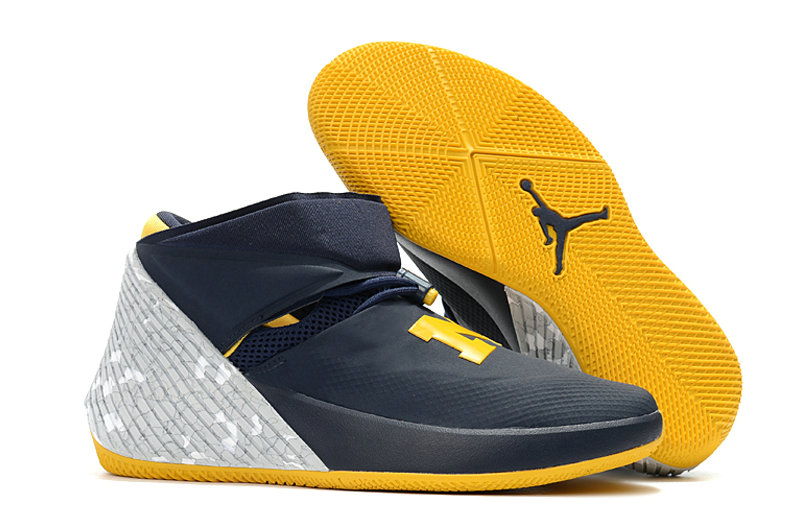 2018 Nike Wholesale Cheap Air Jordan Why Not Zer0.1 Grey Yellow Blue - www.wholesaleflyknit.com