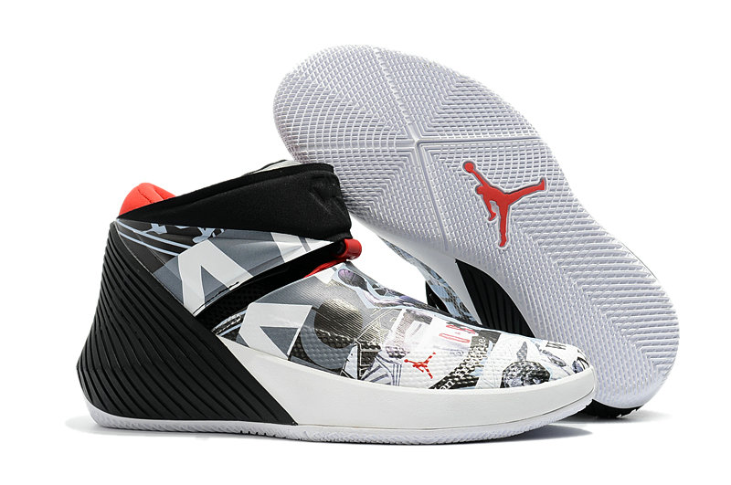 2018 Nike Wholesale Cheap Air Jordan Why Not Zer0.1 Red Grey Black White - www.wholesaleflyknit.com