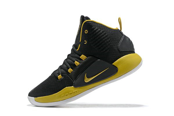 Cheap Wholesale 2018 Nike Hyperdunk X Black Metallic Gold-White Mens Size Free Shipping - www.wholesaleflyknit.com