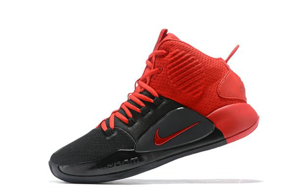 Cheap Wholesale 2018 Nike Hyperdunk X Black University Red For Sale Free Shipping - www.wholesaleflyknit.com