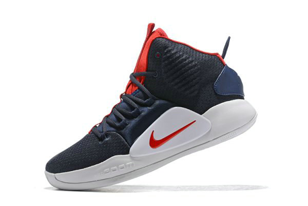 Cheap Wholesale 2018 Nike Hyperdunk X USA Navy Blue Red-White AO7893-400 - www.wholesaleflyknit.com