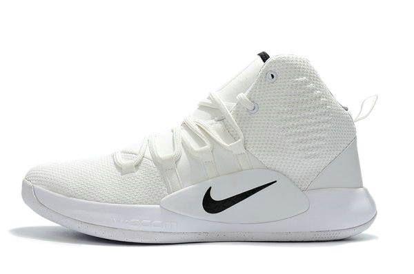 Cheap Wholesale 2018 Nike Hyperdunk X White Black Mens Basketball Shoes - www.wholesaleflyknit.com