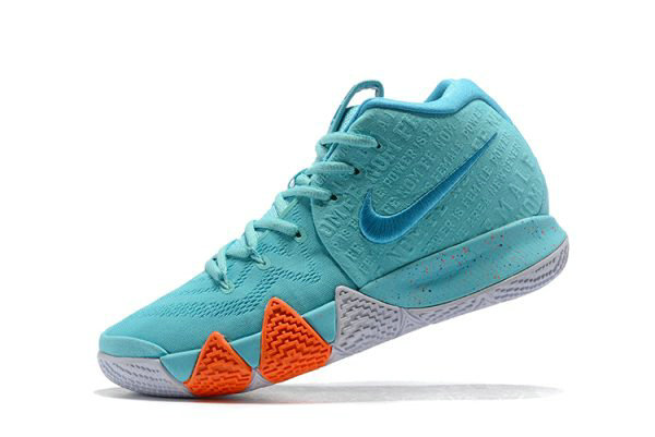 Cheap Wholesale 2018 Nike Kyrie 4 Power is Female Light Aqua Neo Turquoise 943806-402 - www.wholesaleflyknit.com