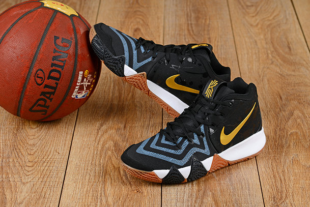 2018 Nike Kyrie Irvings 4 Gold Black Blue White Cheapest Wholesale Sale - www.wholesaleflyknit.com
