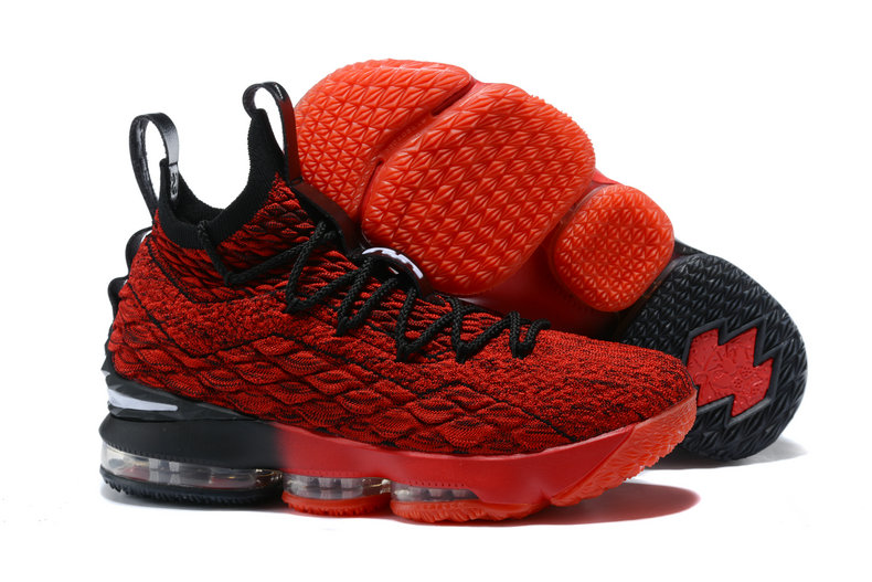 2018 Nike Lebron Shoes x Cheap Nike Lebron 15 Player Exclusives Red Black - www.wholesaleflyknit.com