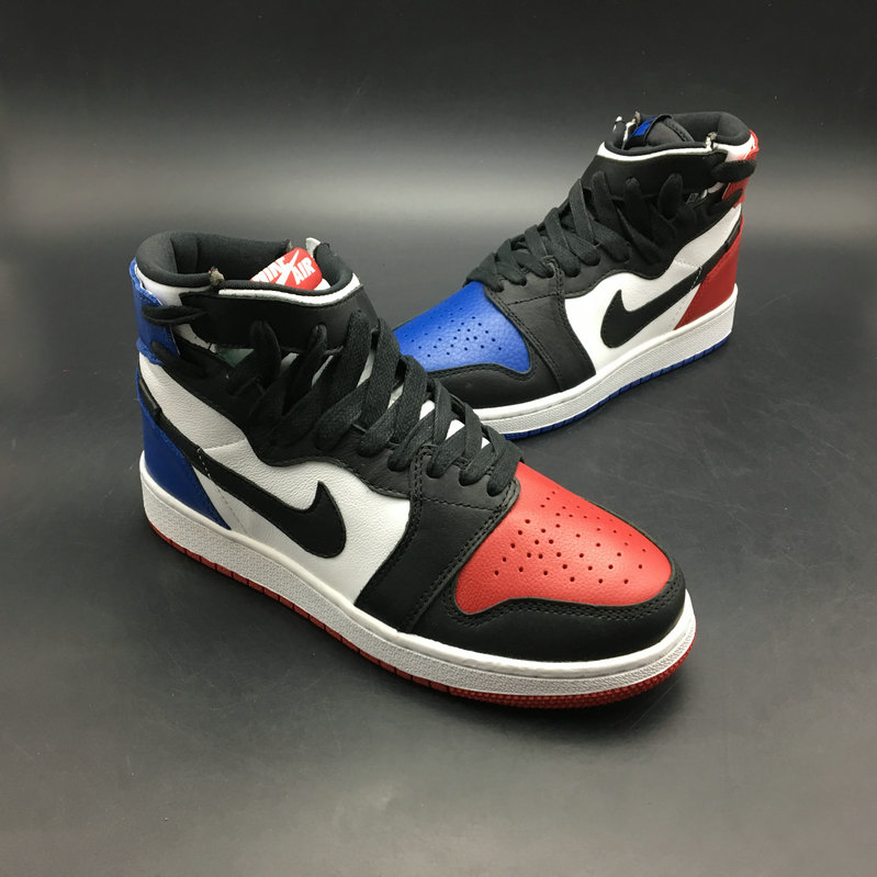 premium selection fb15c 23551 2018 Womens Nike Air Jordan 1 REBEL XX OG TOP 3 White Red Black Blue  Cheapest
