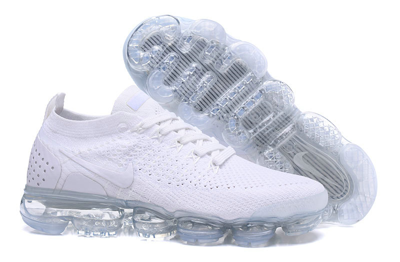 wholesale dealer e4805 a6400 2018 Womens Nike Air VaporMax Flyknit 2.0 All White -  www.wholesaleflyknit.com