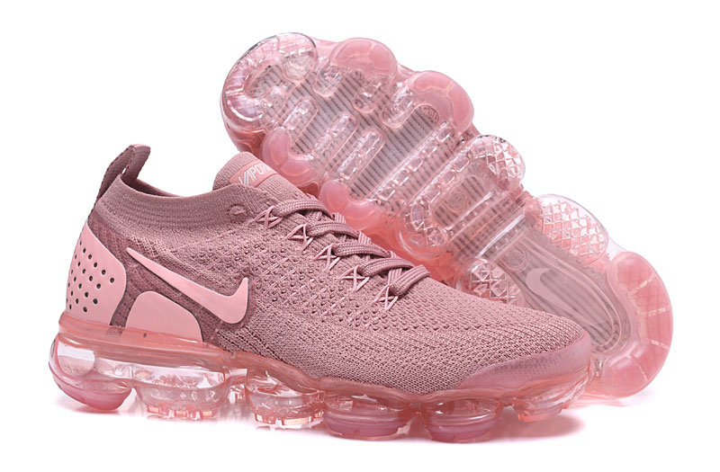 26d0f6897b2 ... wholesale 2018 womens nike air vapormax flyknit 2.0 pink purple  wholesaleflyknit 08ea3 bf061 clearance fashion ...