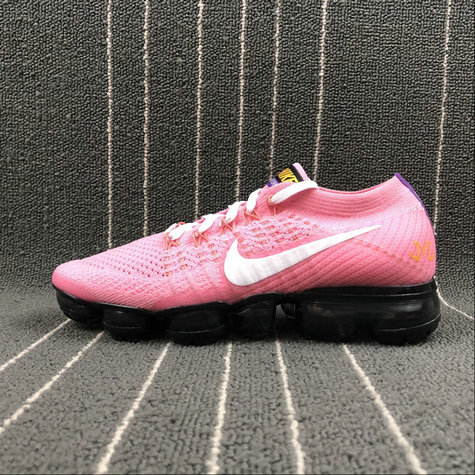 92fc7079ae40c 2018 Womens Nike Air Vapormax FLYKNIT Pink White Rose Blanc AA3859-017 -  www.