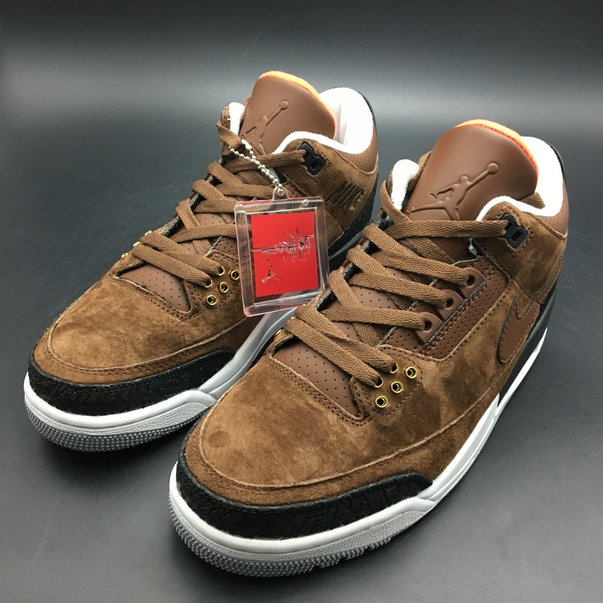 2018 Cheapest Wholesale Sale Nike Air Jordans 4 (IV) Retro Brown Black White For Mens - www.wholesaleflyknit.com