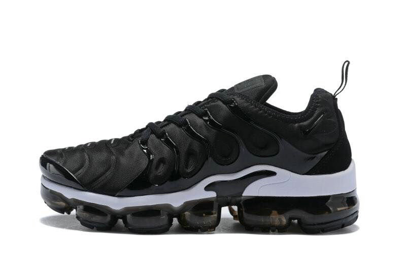 2018 Cheapest Wholesale Sale Nike Air VaporMax Plus Womens White Black - www.wholesaleflyknit.com