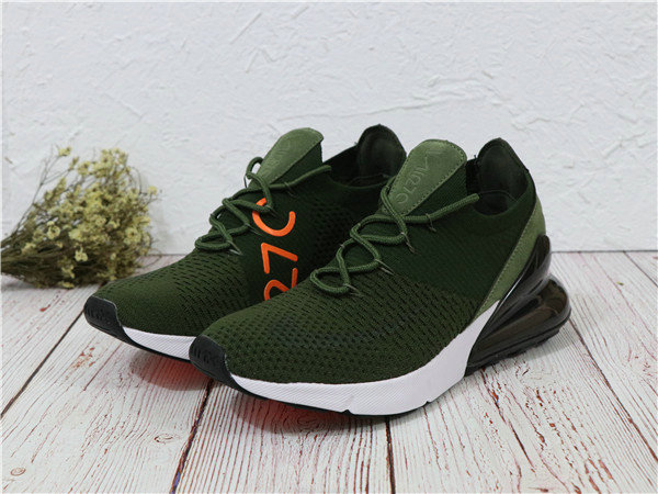 2018 Cheapest Wholesale Sale Nike Air Maxs 270 Flyknit Mens Olive White - www.wholesaleflyknit.com