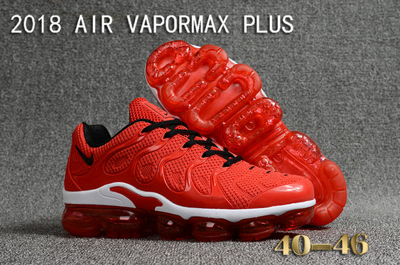 buy popular de40d 3a5cd 2018 Cheapest Wholesale Sale Nike Air VaporMax Plus Mens China Red White  Black - www.