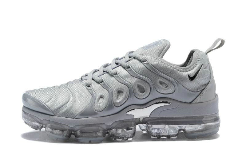 2018 Cheapest Wholesale Sale Nike Air VaporMax Plus Womens Grey Silver - www.wholesaleflyknit.com