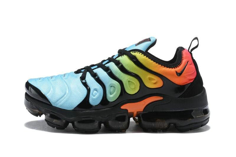 2018 Cheapest Wholesale Sale Nike Air VaporMax Plus Womens Jade Green Orange Black - www.wholesaleflyknit.com