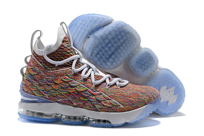 2018 Cheapest Wholesale Sale Nike Lebron 15 (XV) Colorful For Mens - www.wholesaleflyknit.com