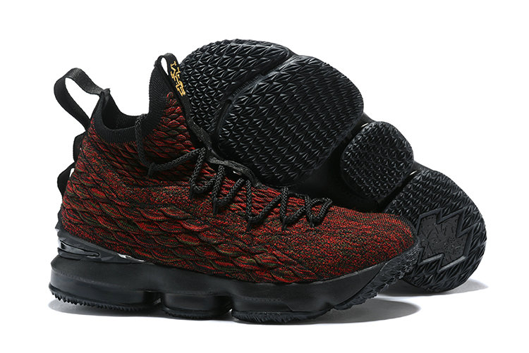 c18176de59c 2018 Cheapest Wholesale Sale Nike Lebron 15 (XV) Red Black Gold For Mens -