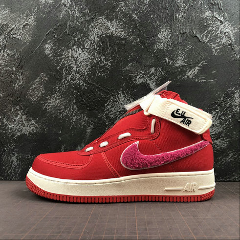 more photos 4050c b9f4c 2019 Wholesale Cheap Emotionally Unavailable x Nike Air Force 1 High Team  Red Sail Pink Blast