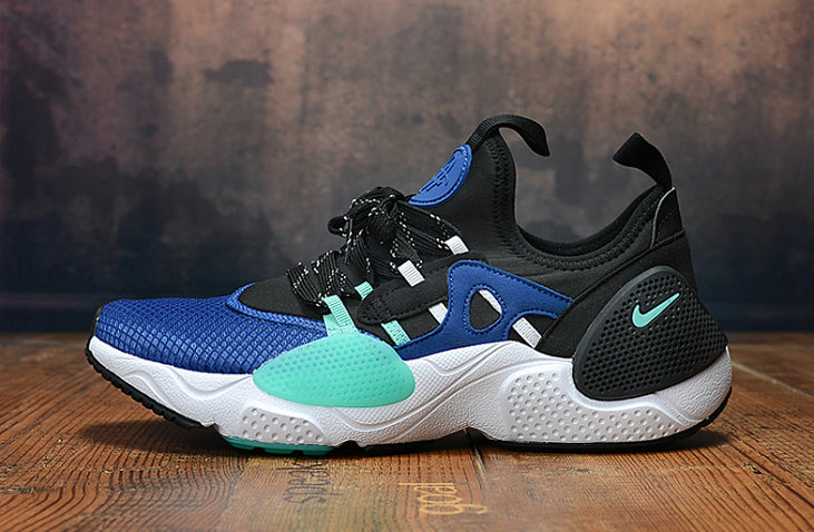 2019 Wholesale Cheap Nike Air Huarache 8 Edge TXT OG Jade Blue White - www.wholesaleflyknit.com