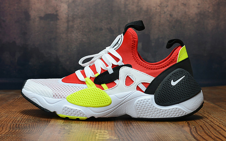 2019 Wholesale Cheap Nike Air Huarache 8 Edge TXT OG Red White Black Yellow - www.wholesaleflyknit.com