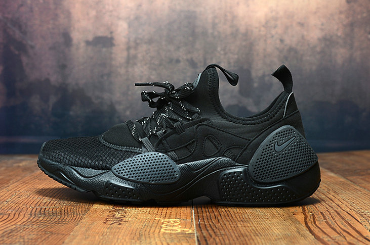 2019 Wholesale Cheap Nike Air Huarache 8 Edge TXT OG Triple Black - www.wholesaleflyknit.com
