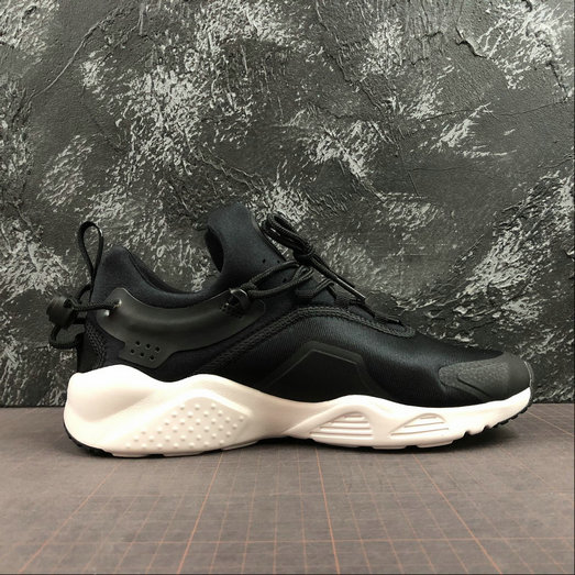 2019 Wholesale Cheap Nike Air Huarache City Move Black White AO3172-001 - www.wholesaleflyknit.com