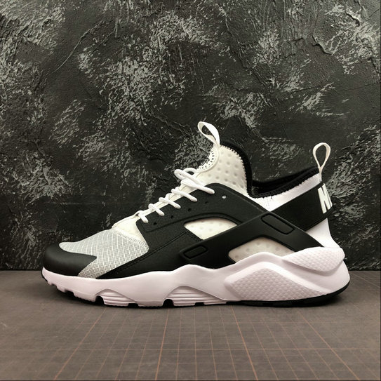 2019 Wholesale Cheap Nike Air Huarache Run Ultra White Black - www.wholesaleflyknit.com