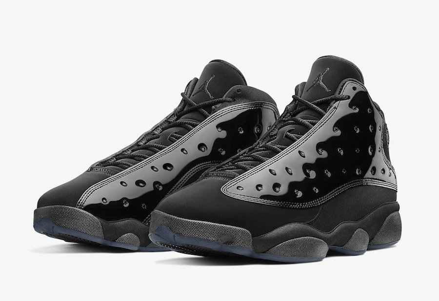 2019 Wholesale Cheap Nike Air Jordan 13 Cap and Gown Black 414571-012 - www.wholesaleflyknit.com