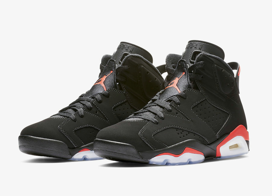 2019 Wholesale Cheap Nike Air Jordan 6 384664-060 Black-Infrared - www.wholesaleflyknit.com