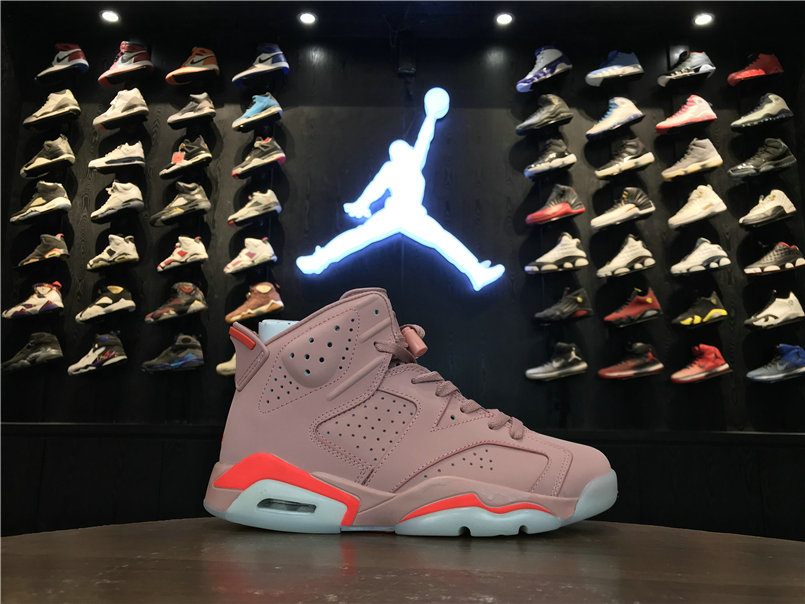 2019 Cheapest Wholesale Nike Air Jordan 6 Millennial Pink 384664-031 - www.wholesaleflyknit.com