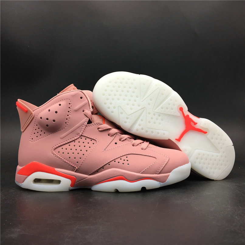 2019 Wholesale Cheap Nike Air Jordan 6 Millennial Pink 384664-031 - www.wholesaleflyknit.com