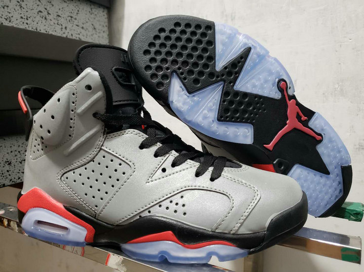 2019 Wholesale Cheap Nike Air Jordan 6 Reflect Silver Infrared CI4072-001 - www.wholesaleflyknit.com