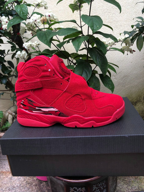 2019 Wholesale Cheap Nike Air Jordan 8 Gym Red Ember Glow-Team Red AQ2449-614 - www.wholesaleflyknit.com