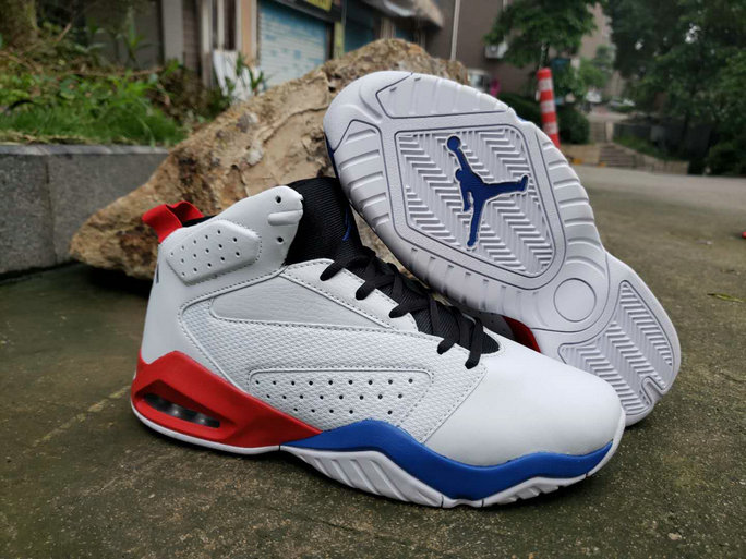 2019 Wholesale Cheap Nike Air Jordan Lift Off AJ6 White Blue Red - www.wholesaleflyknit.com