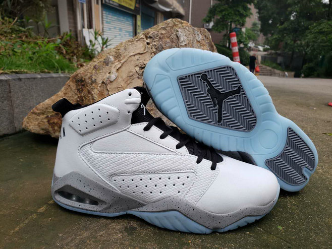 2019 Wholesale Cheap Nike Air Jordan Lift Off AJ6 White Grey Black - www.wholesaleflyknit.com