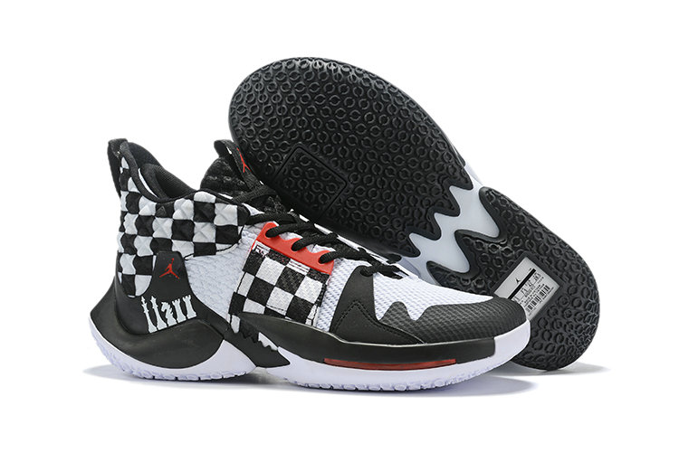 2019 Wholesale Cheap Nike Air Jordan Mens Why Not Zer0.2 Basketball Shoes White Black Red - www.wholesaleflyknit.com
